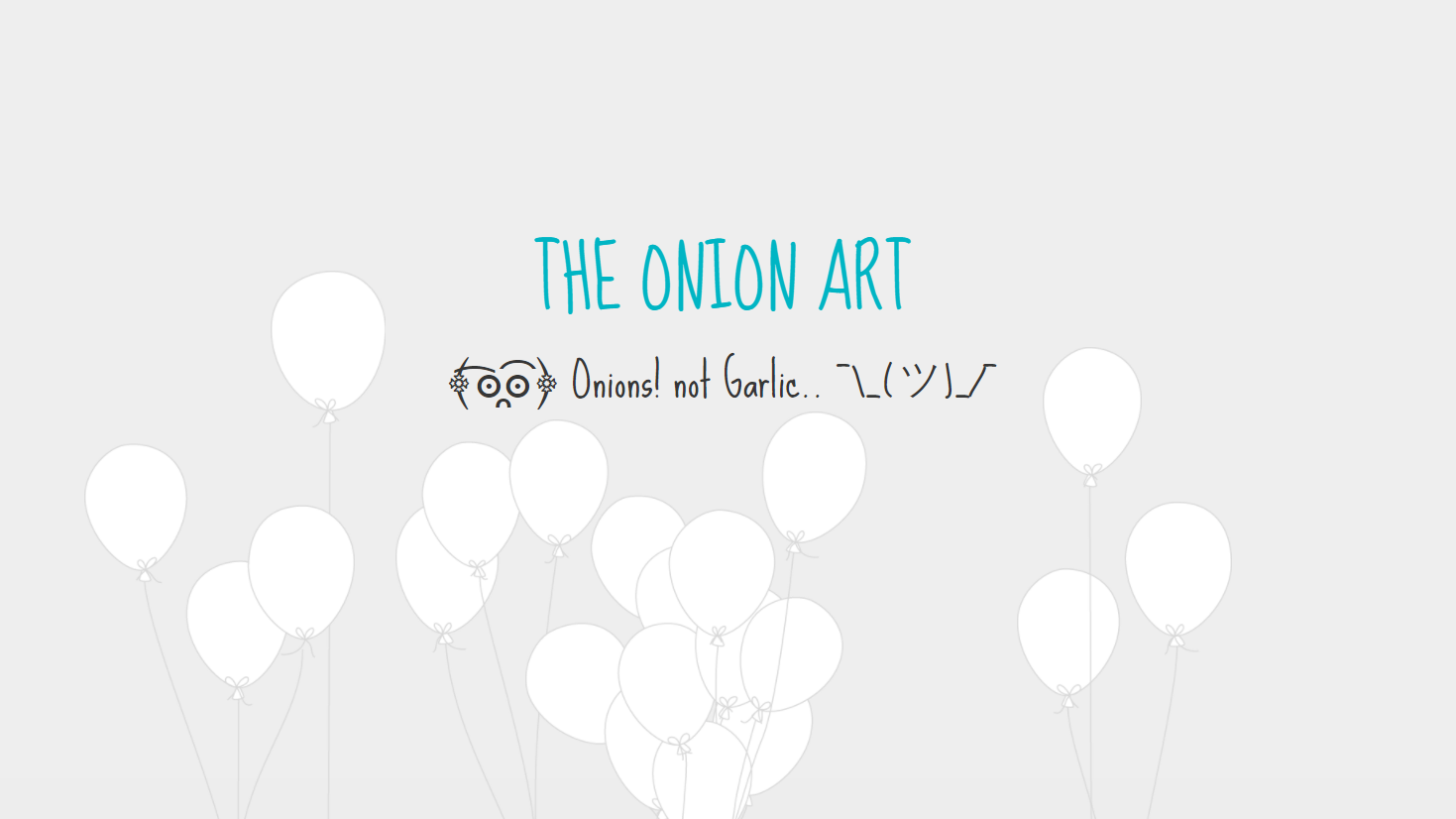 The Onion Art Project